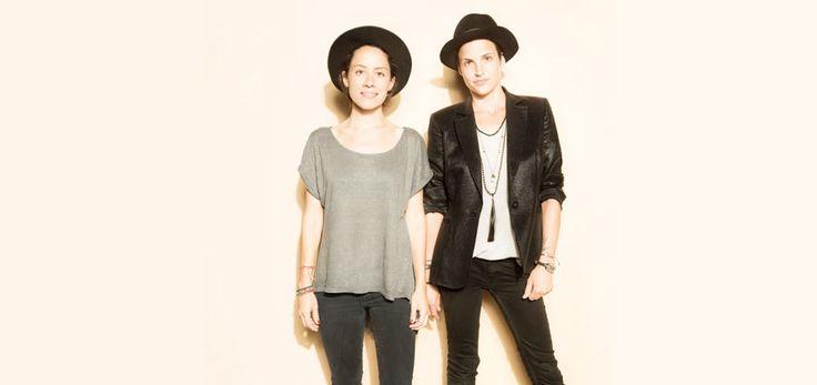 Productoras de moda y asesoras de imagen y vestuario, Anda Gentile y Masha Mandzuka.