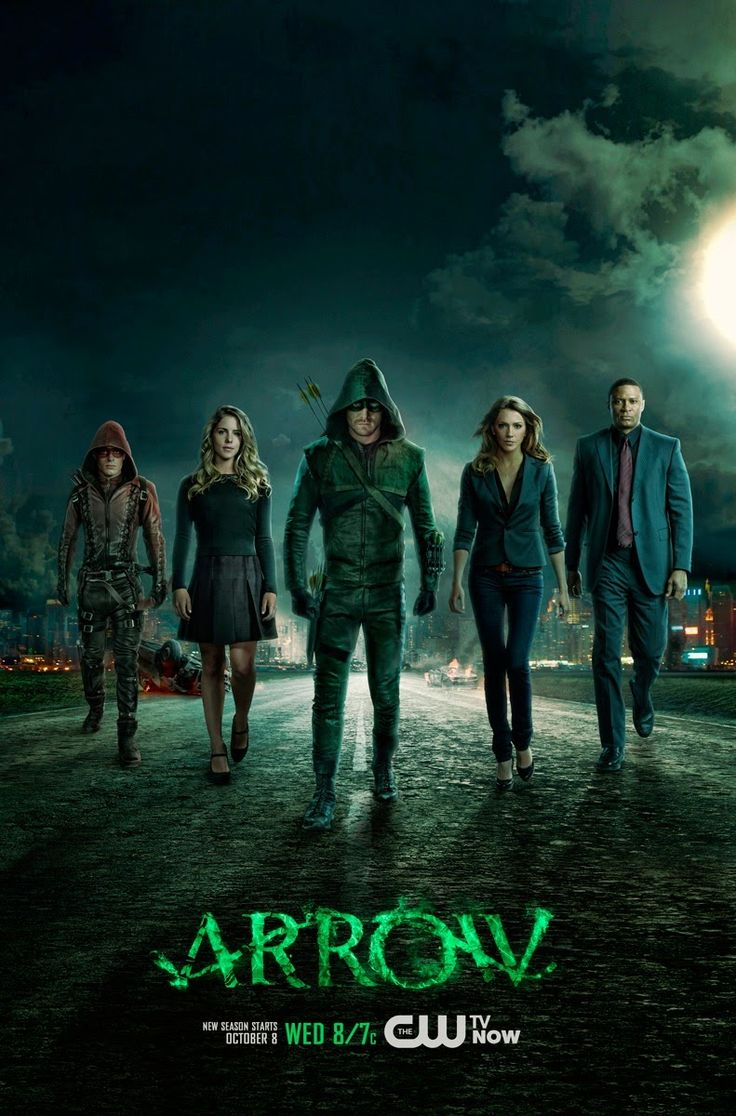 Tv Shows Over The World: Arrow 2012-2015