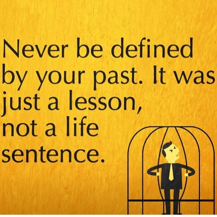 Life lessons aren't Life sentences.  Learn, Grow, Adjust, Evolve.....