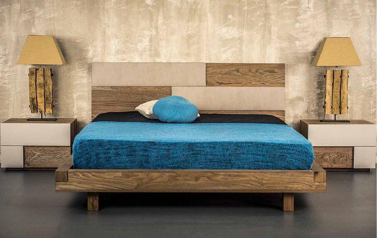 ΚΡΕΒΑΤΟΚΑΜΑΡΑ NEW WOOD ΣΕΤ ΜΟΝΤΕΡΝΑ  Ο συνδυασμός ξύλου δερματίνης σπάει την μονοχρωμία και δίνει διαφορετικό χρώμα σε όλη την κρεβατοκάμαρα  Μοντέρνο κρεβάτι άριστης ποιότητας ελληνικής κατασκευής    Δυνατότητα επιλογής διαστάσεων  Μεγάλη επιλογή σε αποχρώσεις δερματίνης και χρώματος ξύλου.  Στην τιμή περιλαμβάνονται :  Κρεβάτι για στρώμα 160 x 200  Δύο κομοδίνα  Τουαλέτα Καθρέφτης  Ανατομικό τελάρο  Το στρώμα δεν περιλαμβάνεται   Τιμή : 2.295,00€