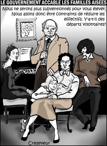 Le calcul du nouveau quotient familial affecte gravement les familles aisées - Famille affectée par son nouveau quotient familial .JPG
