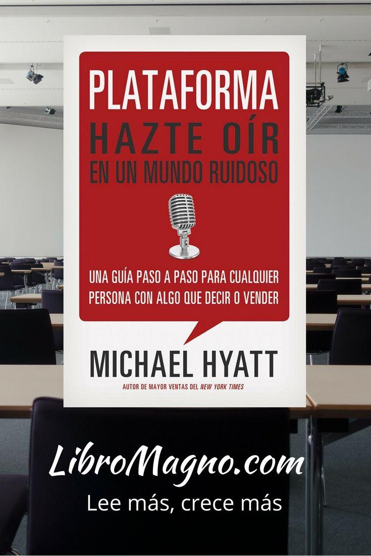"""#RecomiendoLeer """"Plataforma"""" de Michael Hyatt. Mira la reseña de este #libromagno aquí http://www.libromagno.com/2013/12/plataforma-michael-hyatt.html"""
