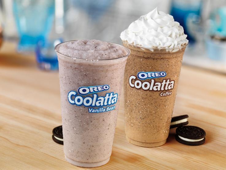 Vanilla Bean or Coffee flavored Oreo Coolatta beverage?