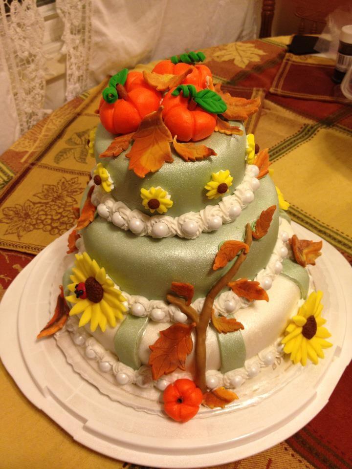 Harvest cake | cake ideas | Pinterest