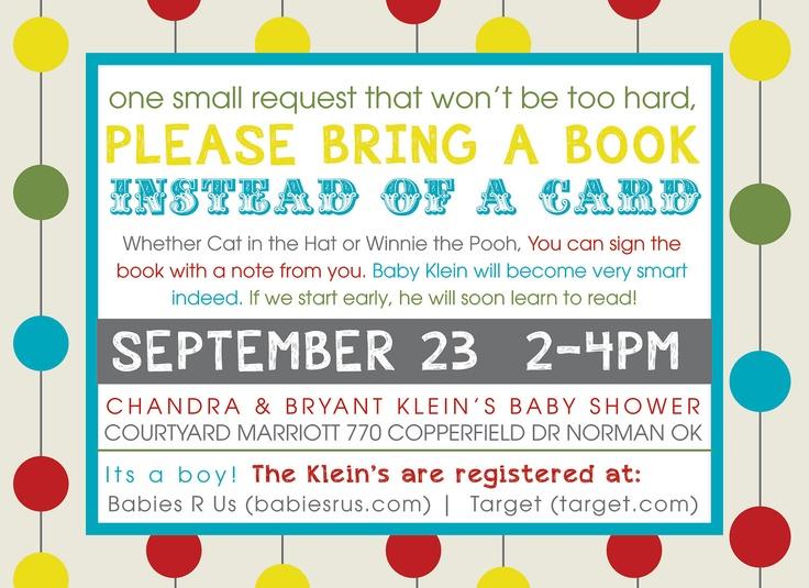 Alphabet Baby Shower Invitations. $15.00, via Etsy.
