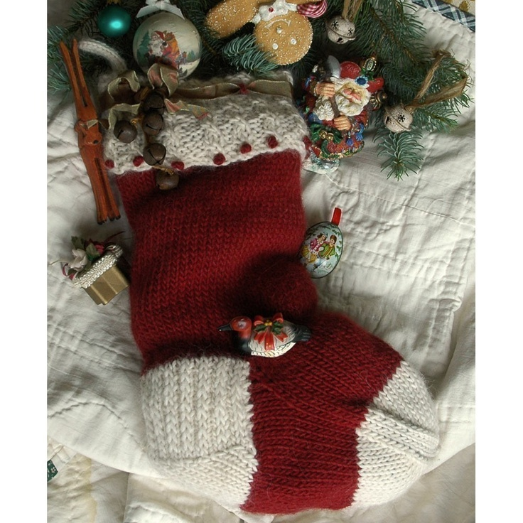 155 best knitted holiday images on pinterest knitting stitches christmas stocking knitting pattern jingle bells design to knit online download dt1010fo