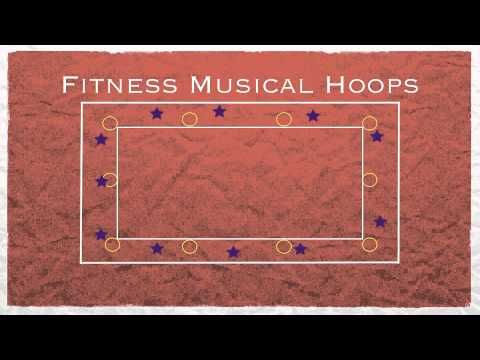 Physed Games - Fitness Musical Hoops - YouTube
