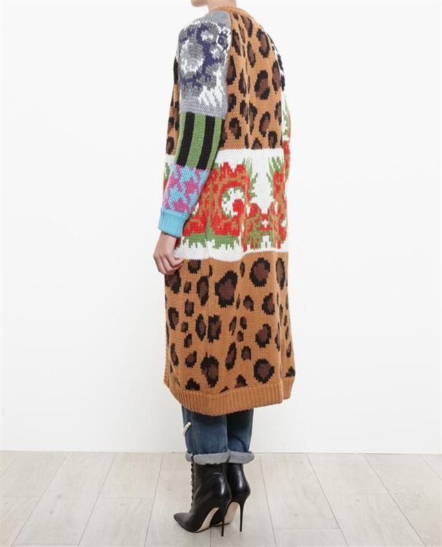 Merino-Alpaca Wool Knit Coat by Tak. Ori