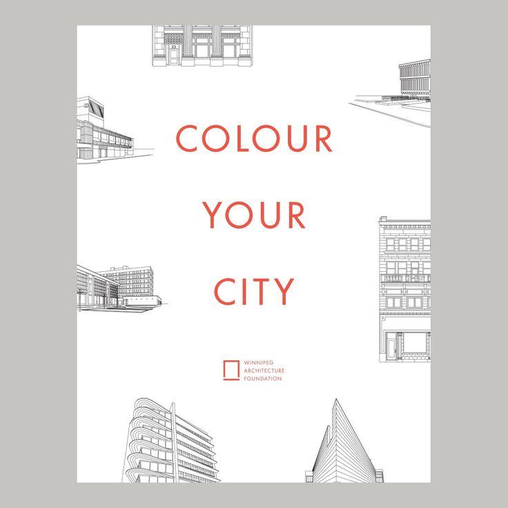 Colour your City - Winnipeg landmarks