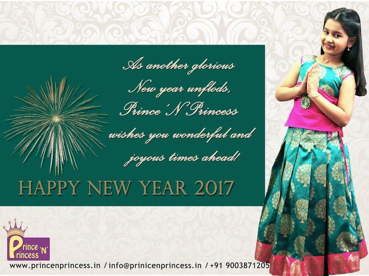 Prince N Princess wishes happy new 2017