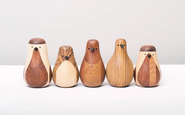 wooden birdiesOld Furniture, Beller Fjetland, Penguins, Re Turn, Products, Wooden Birds, Recycle Wood, Design, Lars Beller