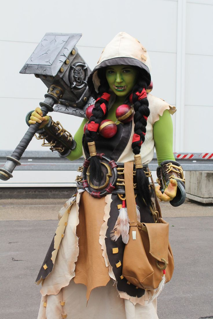 Warcraft 3 Anime Characters : Best thrall cosplay images on pinterest character
