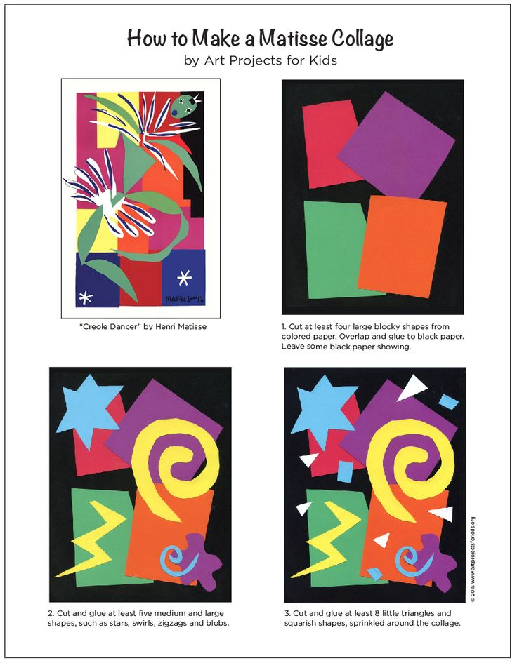 I've found a rather simple formula that will help students create their own Matisse collage. Henri Matisse was a French artist, known for his use of color. After losing the ability to paint late in life, he explored and mastered the art of paper cut outs. My experience is that most students aren't used to adding … Read More