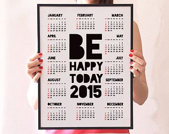 Print custom message on your calendar 2015.Visit http://www.printearly.com/products/calendars