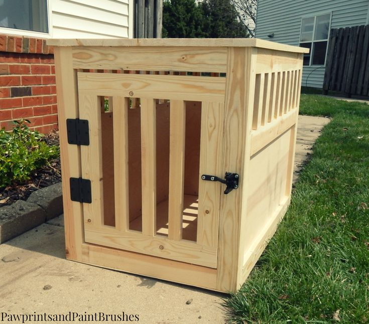 The 25+ best Wooden dog crate ideas on Pinterest