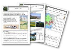La France : relief, hydrographie, climat - La classe de Mallory