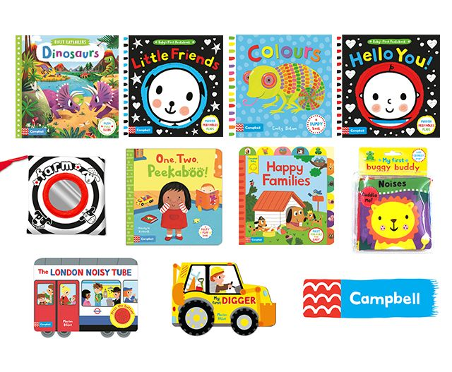 Win a bundle of books for your baby | Competition | Emma's Diary