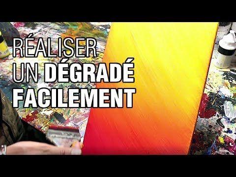 Comment faire un dégradé avec de la peinture facilement - YouTube