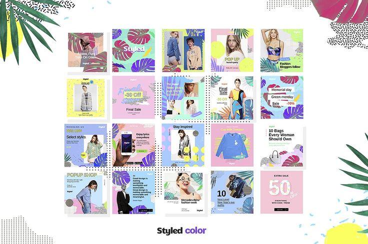 Styled Social Media Kit by amirzhanuly on @creativemarket