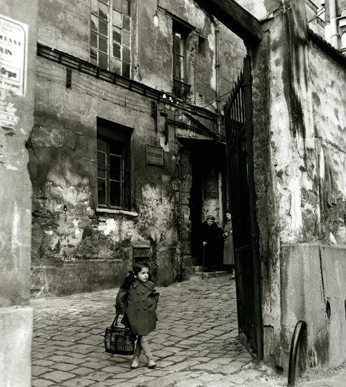 Passage des Gres – 1954    Foto: © Henri Guérard