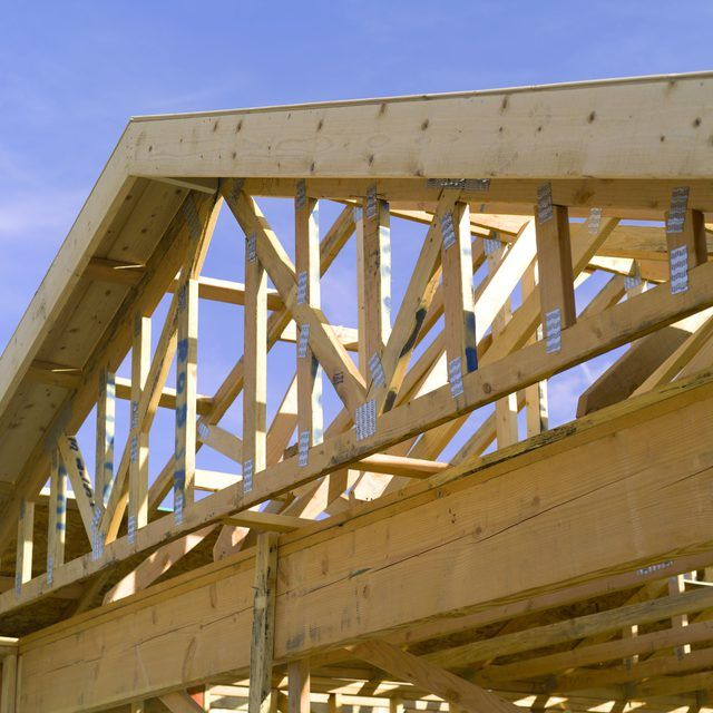 The Best Roofs For A 2 12 Pitch Hunker Roof Trusses House Roof Building A House