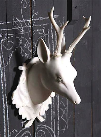 STAG DEER HEAD By Naked Decor Made In Washington, ...