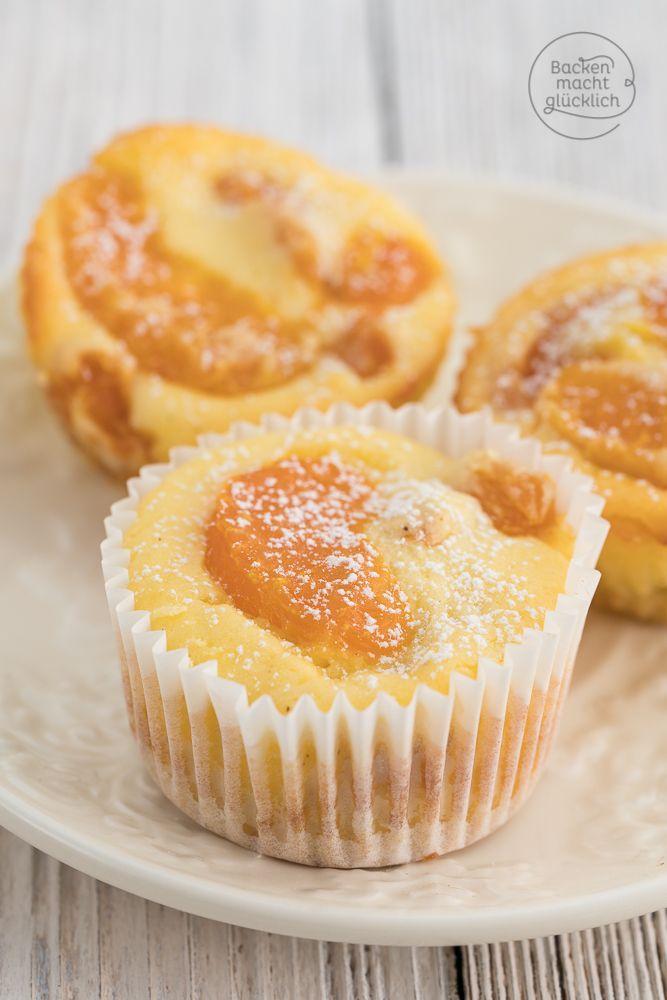 Kaesekuchen-Muffins mit Mandarinen