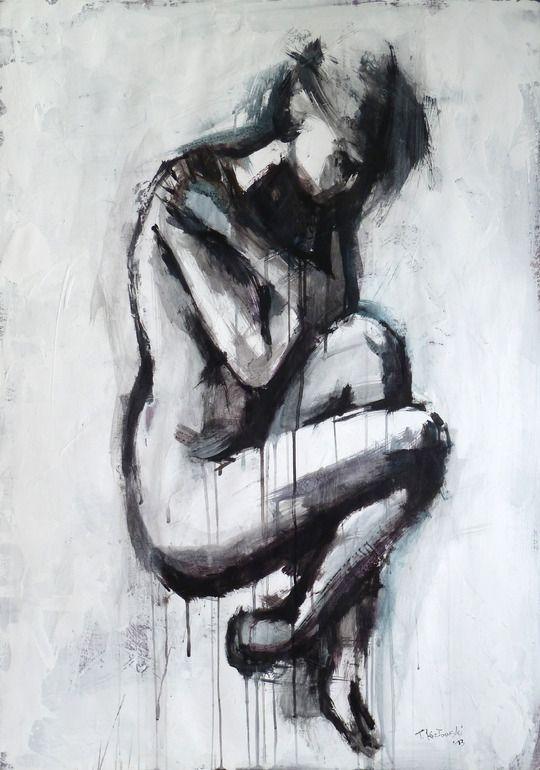"Saatchi Online Artist: Tomasz Kozlowski; Paper, 2013, Mixed Media ""Untitled"""