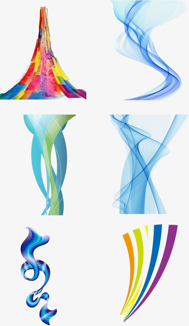 Color Abstract Line Design Underline Abstract Dynamic Lines Png And Vector Abstract Lines Abstract Line Design