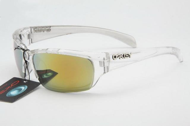 84c81d1fdf2 cheap Oakley Asian Fit Sunglasses polished clear frames yellow Iridium sales  online