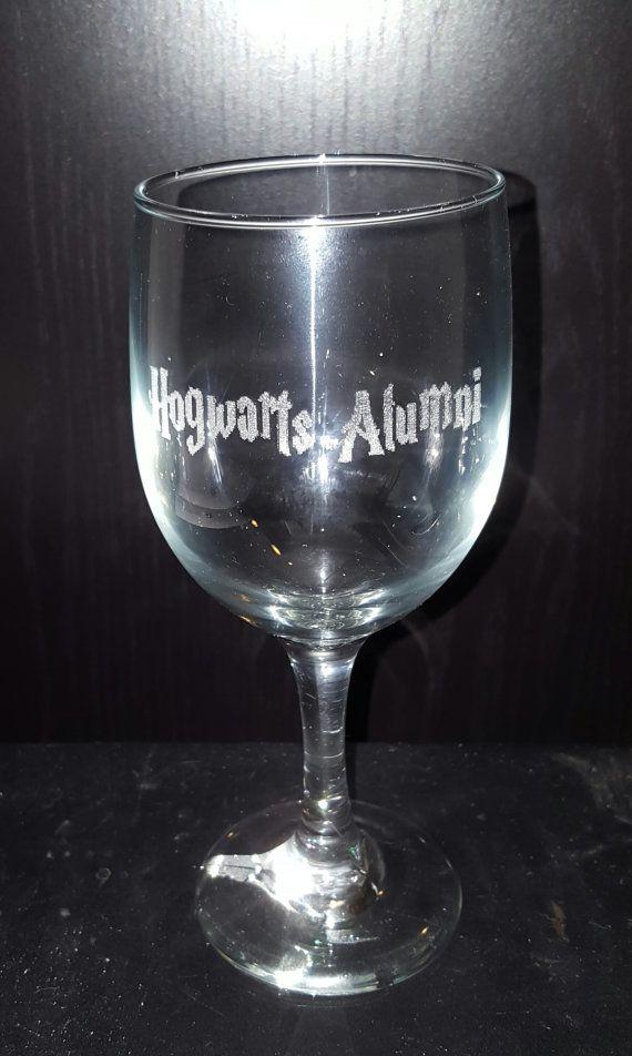 Laser Engraved Harry Potter Hogwarts Alumni by MasonMountain