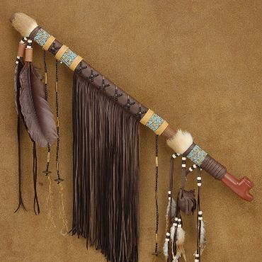 Native American Ceremonial Long Pipe Stone Buckskin Beaded Peace Pipe. (THIS ONE IS A KEEPER !!!!) http://www.nativeamericanstuff.net/WholeSale%20American%20Indian%20%20Peace%20Pipes.htm
