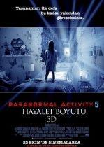 Paranormal Activity 5: Hayalet Boyutu 2015 Türkçe Dublaj Film