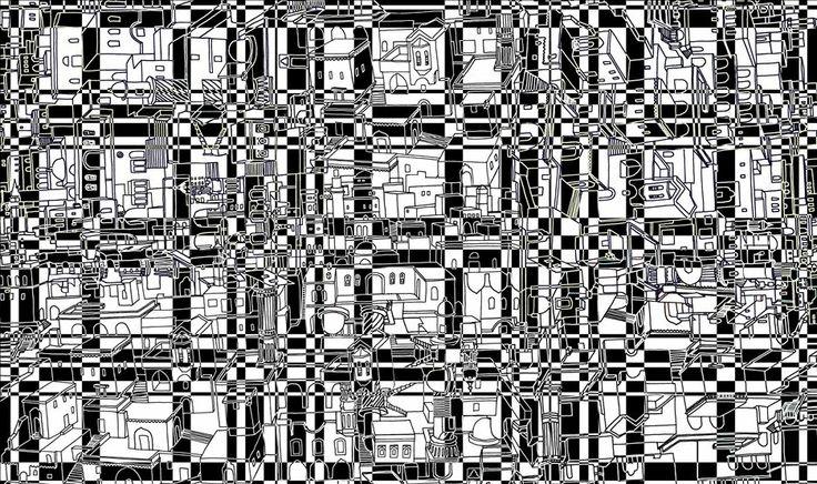 Mardin Houses-print design