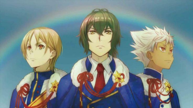 #King of prism #Over the rainbow #Hiro #Kouji #Kasuki #킹오브프리즘 #오버더레인보우 #히로 #코우지 #카즈키