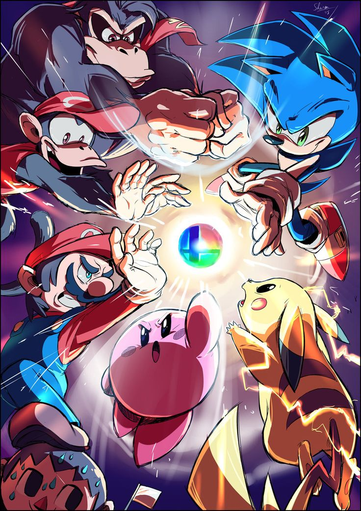 Messy Impacto -Smash Bros by Shira-hedgie.deviantart.com on @DeviantArt