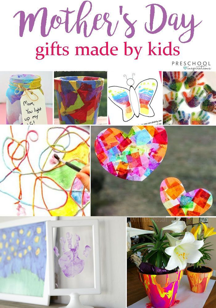 A Great List Of More Than 20 Homemade Diy Gifts Crafts Poems And Art Projects For Mother S Day A Trea Preschool Gifts Homemade Mothers Day Gifts Diy Gifts