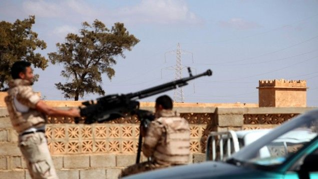 While Islamic State (IS) is in decline in the central Libyan city of Sirte, another armed group with...