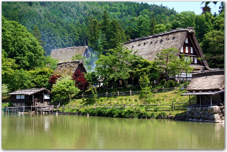 Hida-Takayama - would love to see here, more traditional with lots of hiking spots nearby
