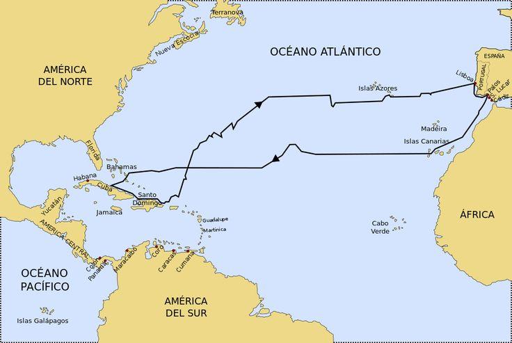 Primer Viaje de Cristobal Colón.