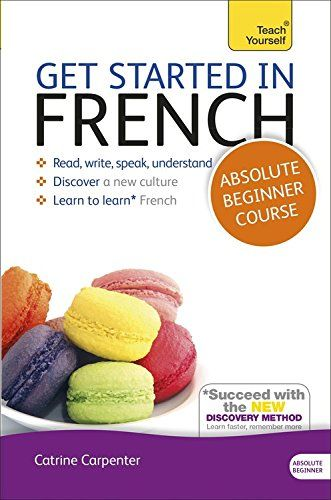 Get Started in French Absolute Beginner Course: (Book and audio support) The essential introduction to reading, writing, speaking and understanding a new language (Teach Yourself) Check more at http://www.indian-shopping.in/product/get-started-in-french-absolute-beginner-course-book-and-audio-support-the-essential-introduction-to-reading-writing-speaking-and-understanding-a-new-language-teach-yourself/