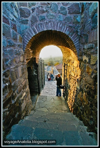 Gate of Ankara Castle