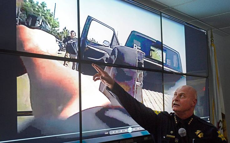 #Police release video showing #shooting of unarmed #white man...