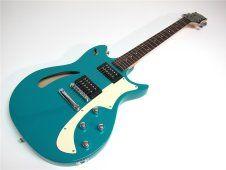 Cort Guitars J Triggs TRG-Chamber 2001 Teal Aqua