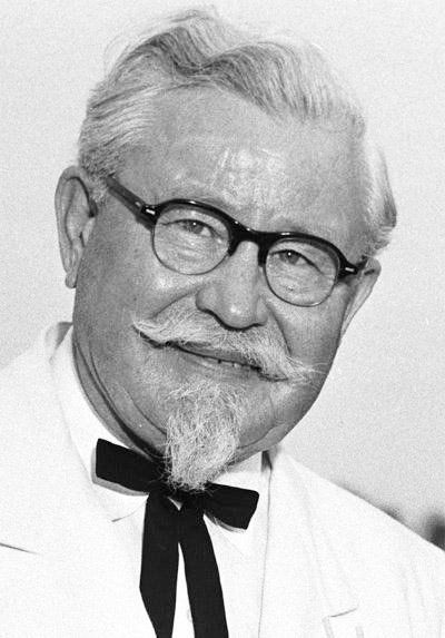 Harlan Sanders, founder of KFC, lived in Corbin