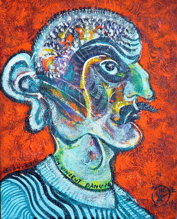 portrait of a fantical stalinist...