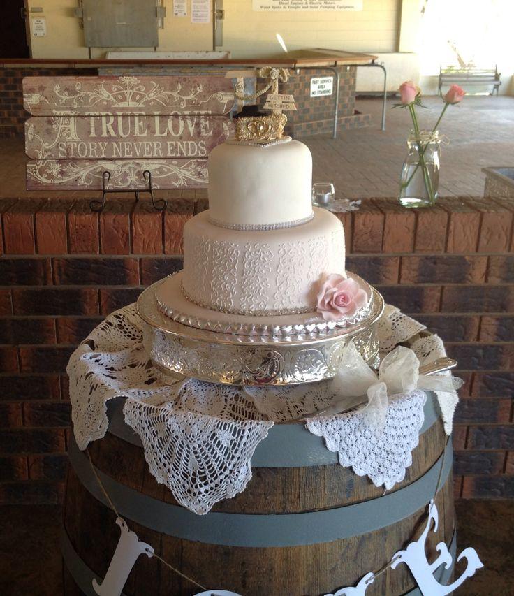 Rustic themed wedding.