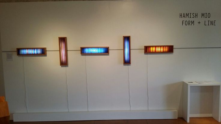 Spectrum Panels - glass art by Hamish Mio
