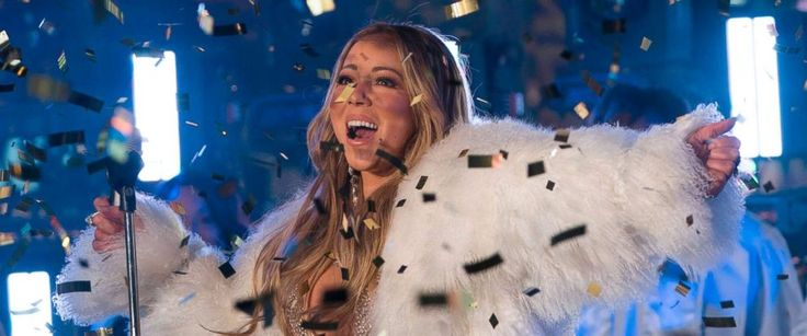 PHOTO: American singer, songwriter, Mariah Carey performs during New Years Eve celebrations in Times Square, New York, Dec. 31, 2017