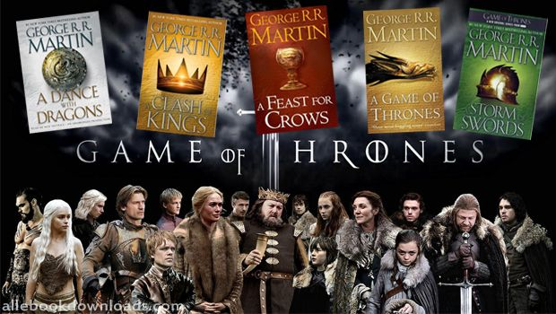Get all Game of Thrones ebook series totally free. Download now and enjoy reading all books for the most anticipated series publication!